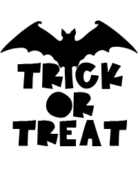 Pumpkin Carving Trick or Treat Pattern