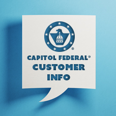 Capitol Federal Customer Info for Merger Image