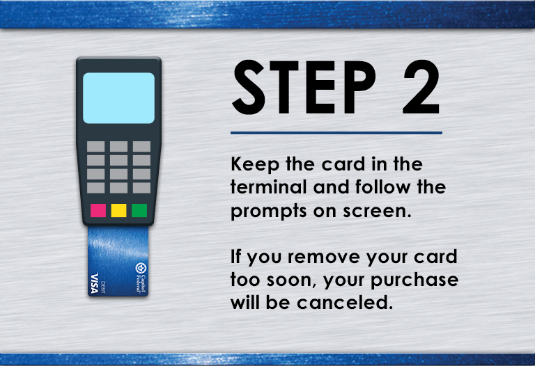 EMV Chip Step 2 Image